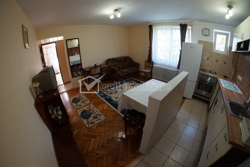 Apartament cu 2 camere semidecomandat 30mp, zona Hermes, Gheorgheni