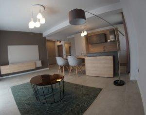 Apartament 3 camere, bloc nou, 76mp utili, finisat, mobilat, cartier Europa