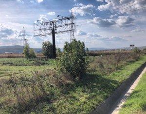 Teren industrial cu PUZ - 9700mp, front la DN1 Floresti -Gilau