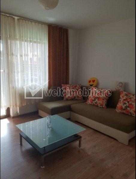 Vanzare apartament 2 camere, decomandat, gradina 58 mp, situat in Floresti