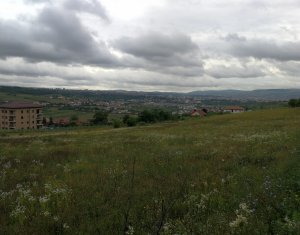 Teren intravilan 800mp cu PUZ in lucru, vedere panoramica din Borhanci