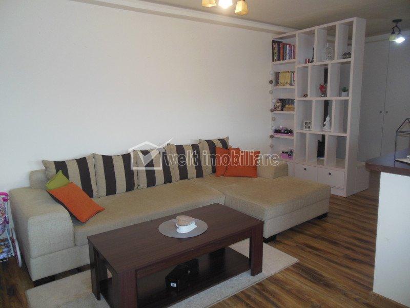 Vanzare apartament cu 3 camere, ultrafinisat, Floresti, Sub Cetate
