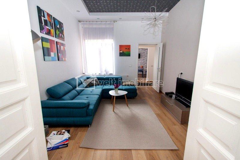 Apartament cu 4 camere, ultracentral, finisat, mobilat, Piata Muzeului