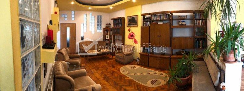 Apartament de 3 camere, in casa, 85mp, finisat, mobilat, zona Horea