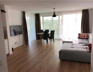 Inchiriere apartament 2 camere, 60 mp, lux, terasa 200 mp, Gruia