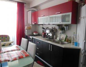 Vanzare apartament cu 3 camere, mobilat si utilat, Floresti, zona Raiffeisen