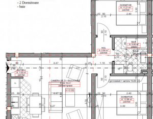 Apartament 3 camere, incalzire in pardoseala, gradina, strada Eroilor