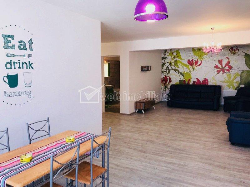 Inchiriere apartament cu 2 camere, renovat, Floresti, Florilor
