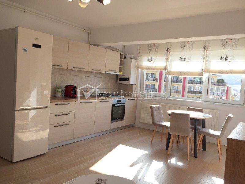 Vanzare apartament 2 camere, ultrafinisat, imobil nou, loc de parcare, Baciu