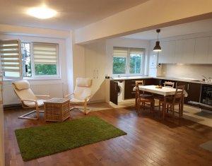 Apartament 4 camere, 2 bai, utilat si mobilat de lux, Calea Dorobantilor