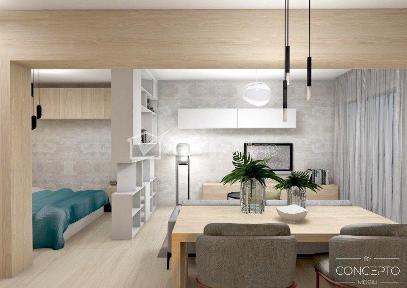 Apartament 1 camera, 41,40mp, Buna Ziua, finisat