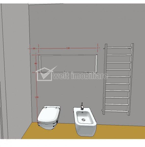 Vanzare 2 camere, Marasti, bloc nou, curte, zona linistita