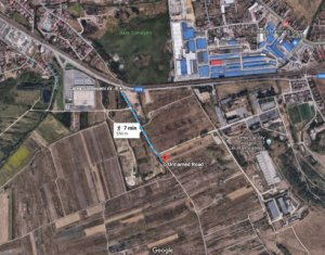 Teren 8941 mp, front 66 m, Colonia Sopor, Selgros