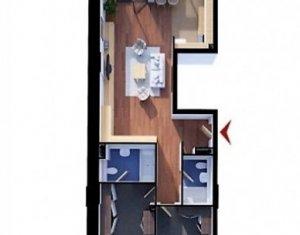 3 camere cu CF, etaj intermediar, bloc nou, parcare, beci, Soporului-Gheorgheni