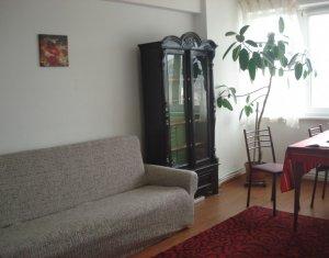 Chirie apartament 2 camere, plus logie inchisa cu geamuri termopan, ultracentral