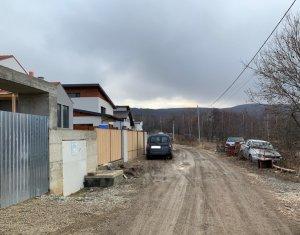 Vanzare teren cu autorizatie de constructie in Faget, 830 mp, front de 20 ml