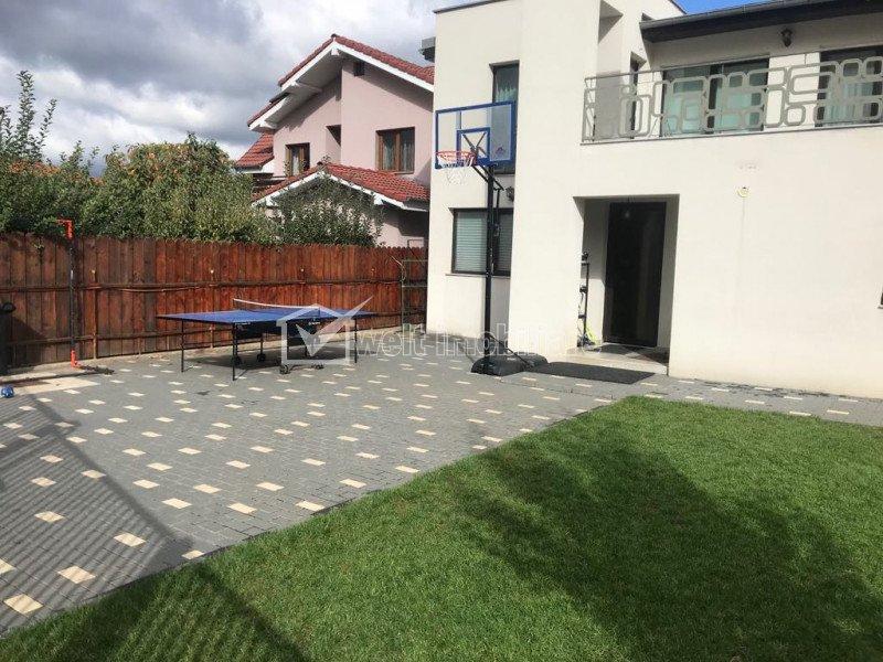 Inchiriere casa individuala lux, 190 mp utili, 500 mp teren, zona Buna Ziua