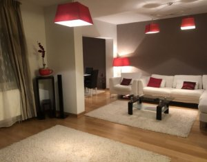 Inchiriem apartament finisat, mobilat lux, 140 mp, et. intermediar+garaj