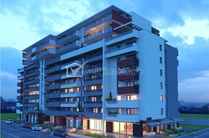 Vindem apartament cu 2 cam, 63 mp cu terasa de 13mp, zona Ira, se accepta credit