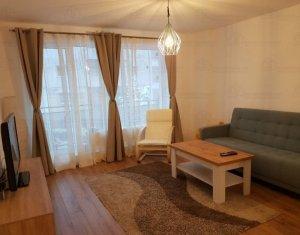 Chirie apartament cu 2 camere, utilat si mobilat modern,parcare inclusa, Marasti