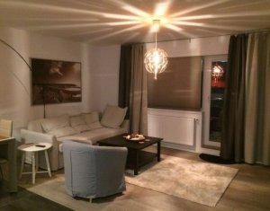 Apartament 2 camere, bloc nou, parcare subterana, mobilat de lux, zona Brancusi