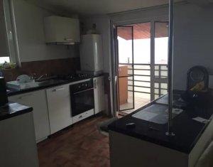 Apartament cu 3 camere, cartier, Manastur, bloc nou, mobilat, utilat