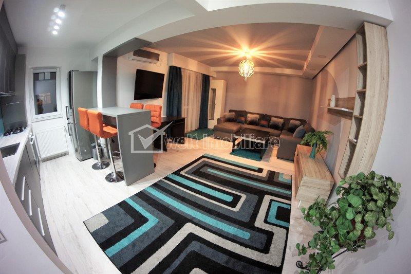 Apartament ultrafinisat cu parcare si view, pentru pretentiosi, Soporului