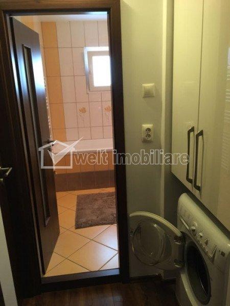 Apartament 3 camere, 2 bai, decomandat, utilat, mobilat modern, Intre Lacuri