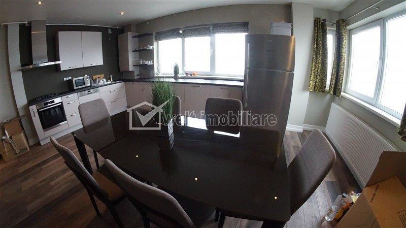 Penthouse pe 2 niveluri, totul nou, pentru pretentiosi, zona strazii C Coposu