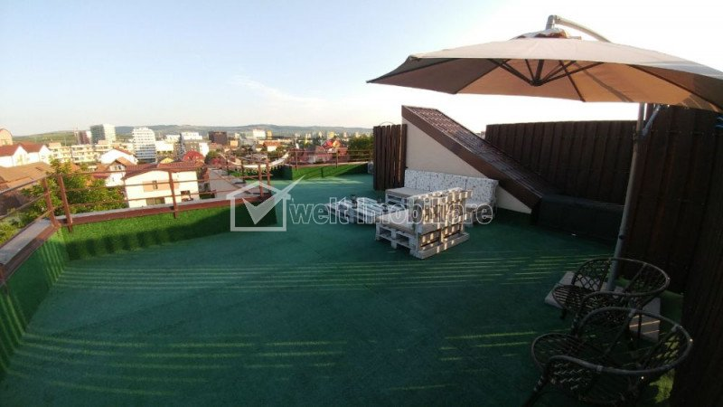 Apartament 3 camere in zona Iulius Mall, terasa de 80 mp