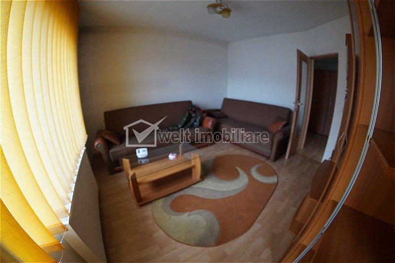 Apartament 1 camera, decomandat, confort sporit, etaj 2, Manastur