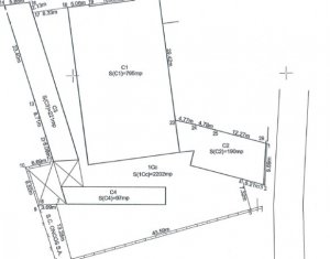 Vanzare teren de bloc in Marasti, centru de cartier, incadrare RiM, 2200 mp