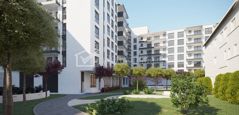 Apartamente de 2 camere situate in imobil nou exclusivist, zona The Office