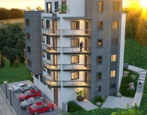 Apartament 2 camere, 54 mp, balcon, semifinisat, bloc nou, Donath Park