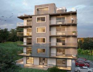 Apartament 3 camere, 69 mp, balcon, semifinisat, bloc nou, Donath Park
