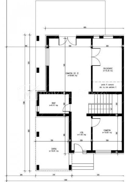 Duplex 5 camere, 145 mp, 340 mp teren, Dezmir