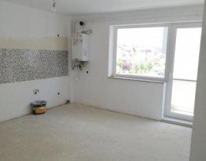 Vanzare apartament 3 camere, etaj intermediar, finisat partial, imobil modern