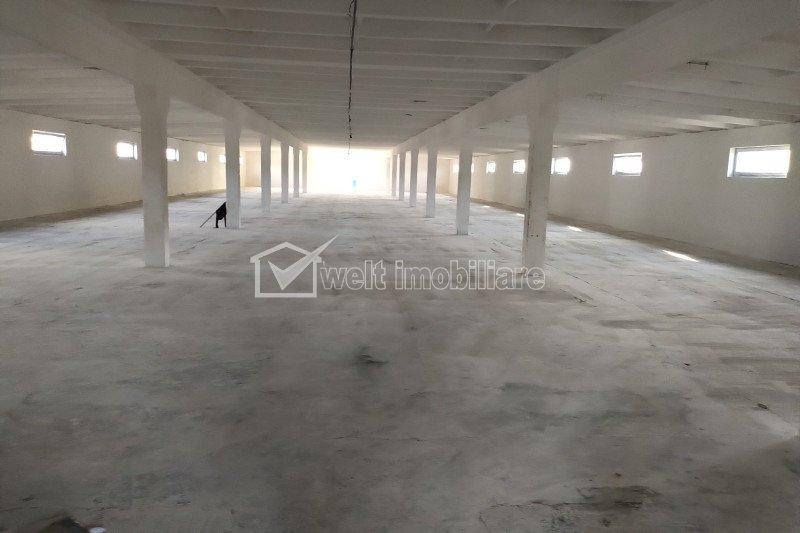 Inchiriere hale productie, depozitare, 1050 mp, nod autostrada A3 Turda