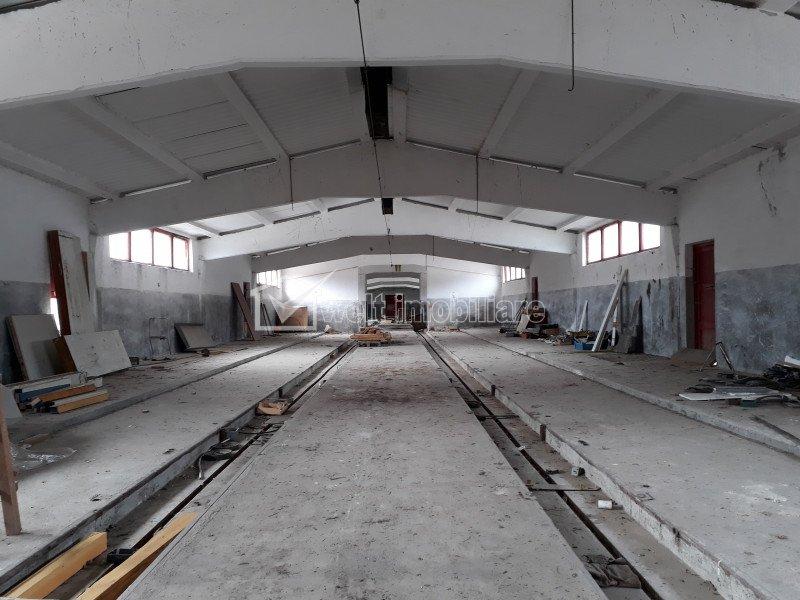 Teren industrial 10.800 mp, 4 Hale si corp administrativ, Suatu - Cluj