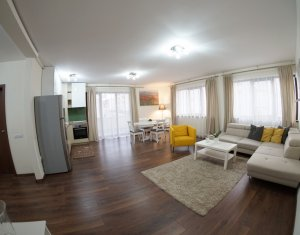 Inchiriere Apartament 3 camere lux, terasa, parcare, resedinta exclusivista