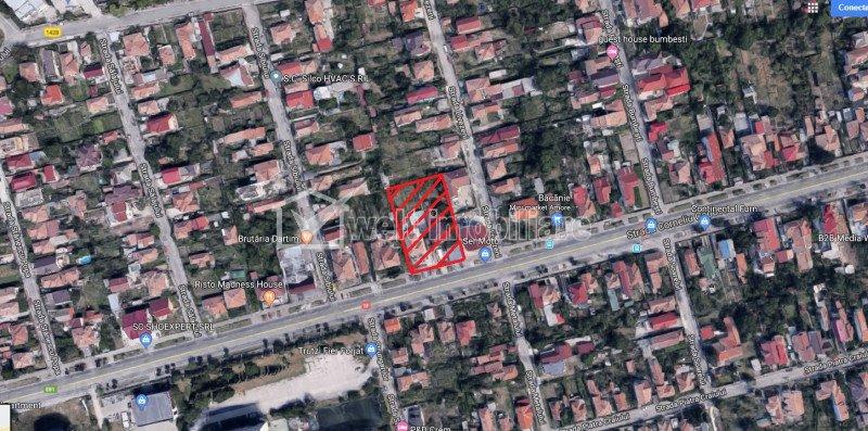 Teren intravilan 2000mp, zona Coposu, front 36ml, UTR: Rrm3