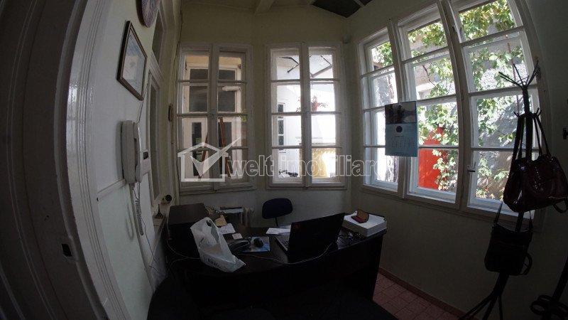 De inchiriat! Casa, curte individuala, pretabila pt birouri, 100 mp, Gheorgheni