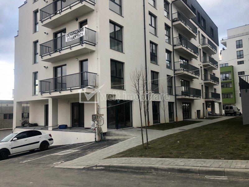 Birou de vanzare, parter de bloc nou, Calea Turzii - OMV