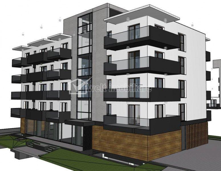 Vanzare apartament 4 camere, Intre Lacuri, semifinisat