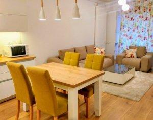 Inchiriere apartament de lux, 2 camere, 50 mp, garaj subteran, zona Buna Ziua