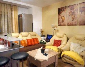 Apartament 3 camere, mobilat si utilat, complex privat, Floresti