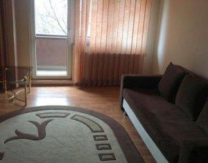 Apartament de inchiriat o camera, mobilat si utilat, gradina, str. Intre Lacuri