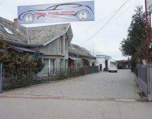 Vanzare casa Campia Turzii, la strada principala, 1400 mp; activitati comerciale