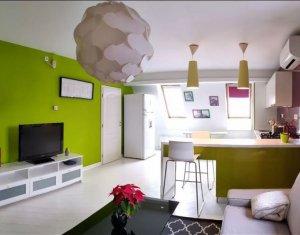 Apartament de 2 camere lux, semidecomandat, confort 1, Centru