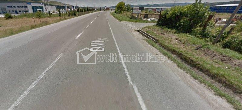 Teren de inchiriat suprafata 1000-8000 mp, langa Autostrada Transilvania